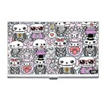 Kawaii Graffiti And Cute Doodles Business Card Holders Front