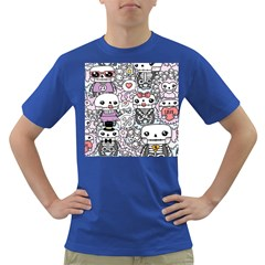 Kawaii Graffiti And Cute Doodles Dark T Shirt