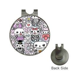 Kawaii Graffiti And Cute Doodles Hat Clips With Golf Markers