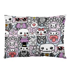 Kawaii Graffiti And Cute Doodles Pillow Case