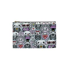 Kawaii Graffiti And Cute Doodles Cosmetic Bag (small)