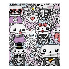 Kawaii Graffiti And Cute Doodles Shower Curtain 60  x 72  (Medium)