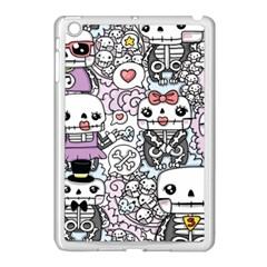 Kawaii Graffiti And Cute Doodles Apple Ipad Mini Case (white)