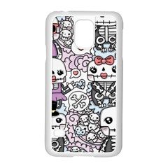 Kawaii Graffiti And Cute Doodles Samsung Galaxy S5 Case (white)