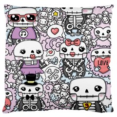 Kawaii Graffiti And Cute Doodles Standard Flano Cushion Case (two Sides)