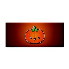 Simple Orange Pumpkin Cute Halloween Cosmetic Storage Cases