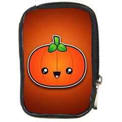 Simple Orange Pumpkin Cute Halloween Compact Camera Cases