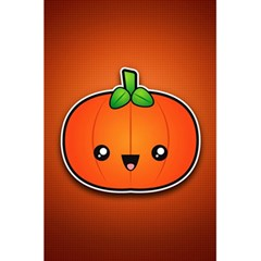 Simple Orange Pumpkin Cute Halloween 5.5  x 8.5  Notebooks