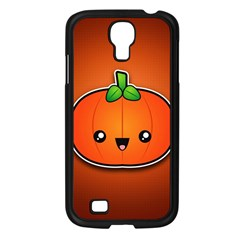 Simple Orange Pumpkin Cute Halloween Samsung Galaxy S4 I9500/ I9505 Case (Black)