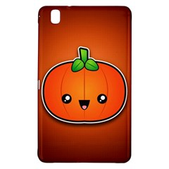 Simple Orange Pumpkin Cute Halloween Samsung Galaxy Tab Pro 8 4 Hardshell Case