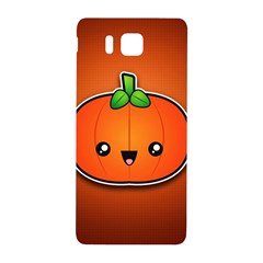 Simple Orange Pumpkin Cute Halloween Samsung Galaxy Alpha Hardshell Back Case
