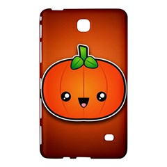 Simple Orange Pumpkin Cute Halloween Samsung Galaxy Tab 4 (8 ) Hardshell Case