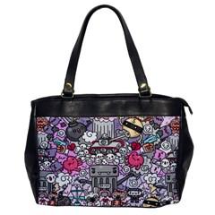0 Sad War Kawaii Doodle Office Handbags