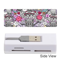 0 Sad War Kawaii Doodle Memory Card Reader (stick)