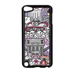 0 Sad War Kawaii Doodle Apple Ipod Touch 5 Case (black)