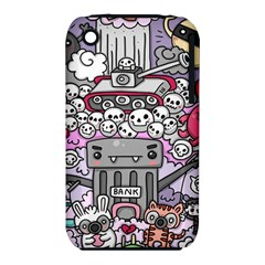 0 Sad War Kawaii Doodle Iphone 3s/3gs