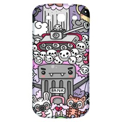 0 Sad War Kawaii Doodle Samsung Galaxy S3 S Iii Classic Hardshell Back Case