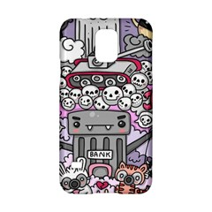 0 Sad War Kawaii Doodle Samsung Galaxy S5 Hardshell Case
