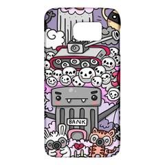 0 Sad War Kawaii Doodle Galaxy S6