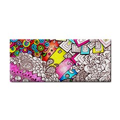 Beautiful Colorful Doodle Cosmetic Storage Cases