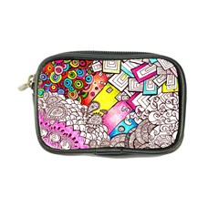 Beautiful Colorful Doodle Coin Purse