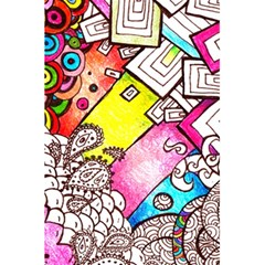 Beautiful Colorful Doodle 5 5  X 8 5  Notebooks