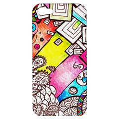 Beautiful Colorful Doodle Apple Iphone 5 Hardshell Case