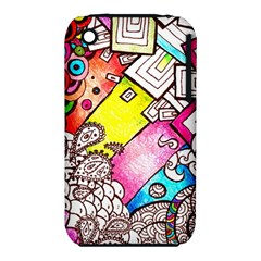 Beautiful Colorful Doodle Iphone 3s/3gs