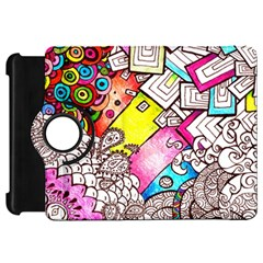 Beautiful Colorful Doodle Kindle Fire Hd 7