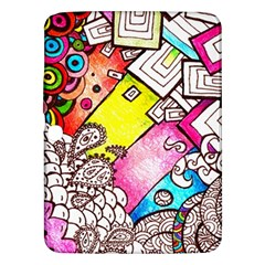 Beautiful Colorful Doodle Samsung Galaxy Tab 3 (10 1 ) P5200 Hardshell Case