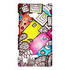 Beautiful Colorful Doodle Nokia Lumia 720