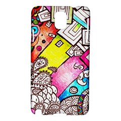 Beautiful Colorful Doodle Samsung Galaxy Note 3 N9005 Hardshell Case