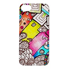 Beautiful Colorful Doodle Apple iPhone 5S/ SE Hardshell Case