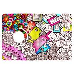 Beautiful Colorful Doodle Kindle Fire Hdx Flip 360 Case