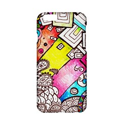 Beautiful Colorful Doodle Apple iPhone 6/6S Hardshell Case
