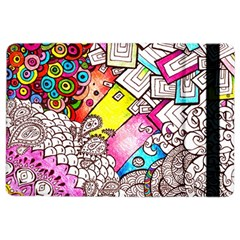 Beautiful Colorful Doodle Ipad Air 2 Flip