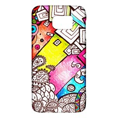 Beautiful Colorful Doodle Galaxy S6