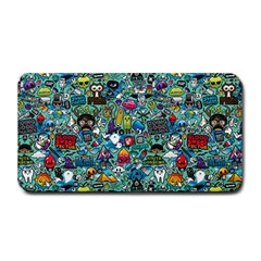 Colorful Drawings Pattern Medium Bar Mats