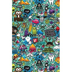 Colorful Drawings Pattern 5 5  X 8 5  Notebooks