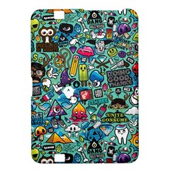 Colorful Drawings Pattern Kindle Fire Hd 8 9