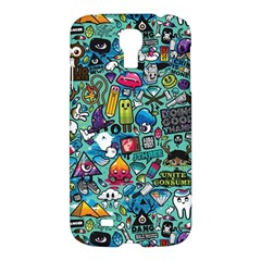 Colorful Drawings Pattern Samsung Galaxy S4 I9500/i9505 Hardshell Case