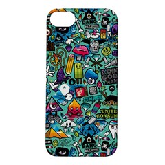 Colorful Drawings Pattern Apple Iphone 5s/ Se Hardshell Case
