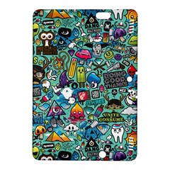 Colorful Drawings Pattern Kindle Fire Hdx 8 9  Hardshell Case