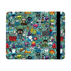 Colorful Drawings Pattern Samsung Galaxy Tab Pro 8.4  Flip Case