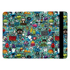 Colorful Drawings Pattern Samsung Galaxy Tab Pro 12.2  Flip Case