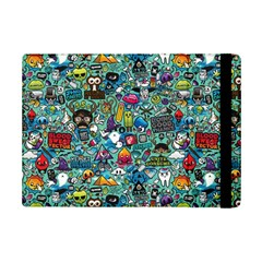 Colorful Drawings Pattern Ipad Mini 2 Flip Cases