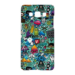 Colorful Drawings Pattern Samsung Galaxy A5 Hardshell Case
