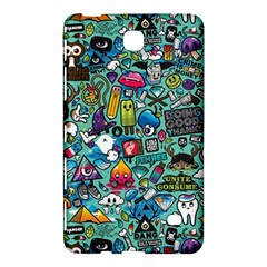 Colorful Drawings Pattern Samsung Galaxy Tab 4 (7 ) Hardshell Case