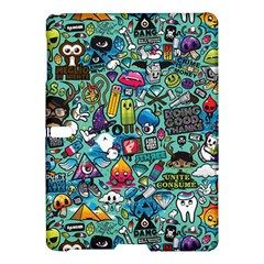 Colorful Drawings Pattern Samsung Galaxy Tab S (10 5 ) Hardshell Case