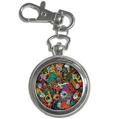 Monsters Colorful Doodle Key Chain Watches
